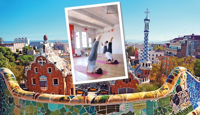 Yoga in Barcelona - Yoga Aktuell