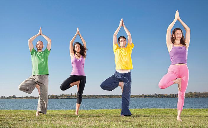 Fokusthema Hüftgelenk - Yoga Aktuell