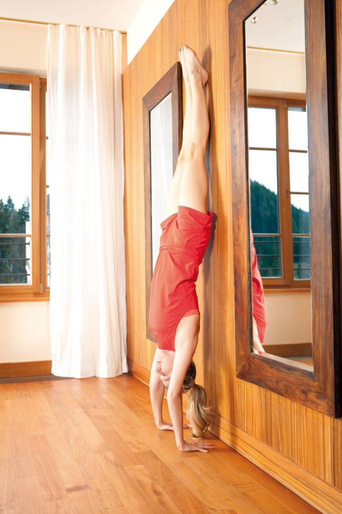 5. Adhomukha-Vrkshasana: Handstand