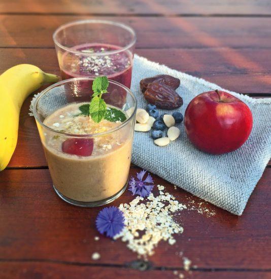 Zutaten für ein leckeres Frühstück