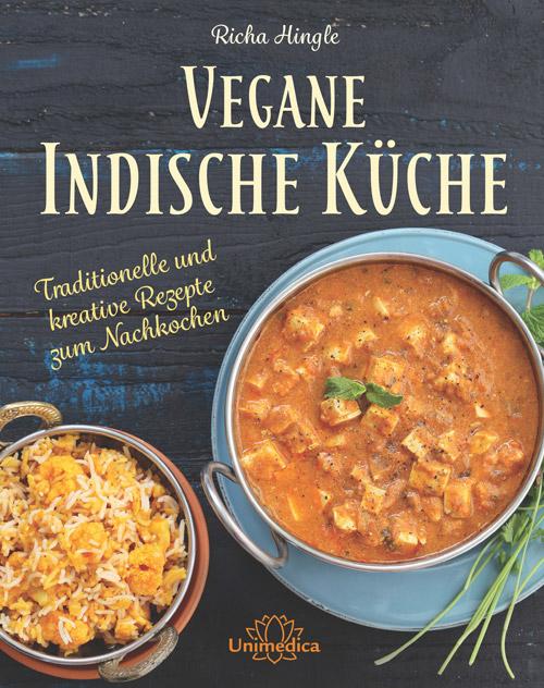 """Buchcover """"Vegane Indische Küche"""" Richa Hingle"""