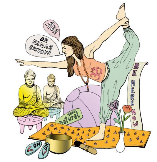 Illustration Yoga