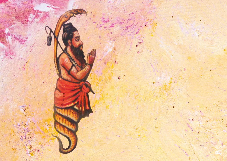 Patanjali: halb Mensch, halb Schlange - Yoga Aktuell