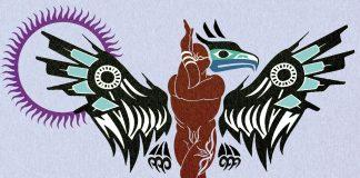 Yoga-Asana – der Adler
