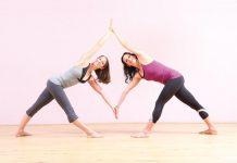 Umgedrehtes Dreieck Yoga