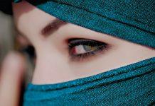 Frau Augen