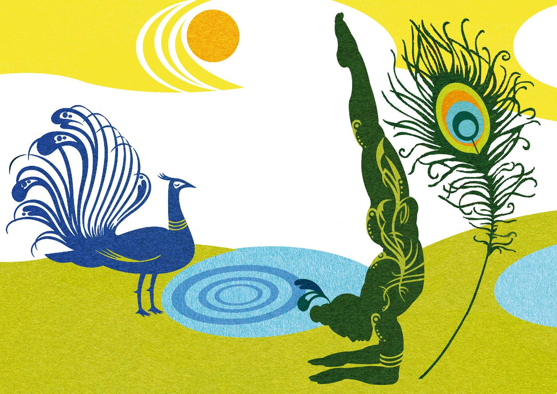 Die geheime Sprache des Hatha-Yoga: Pincha-Mayurasana - Yoga Aktuell