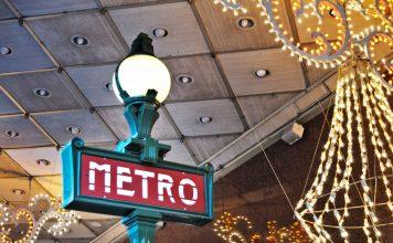 Paris in der Weihnachtszeit