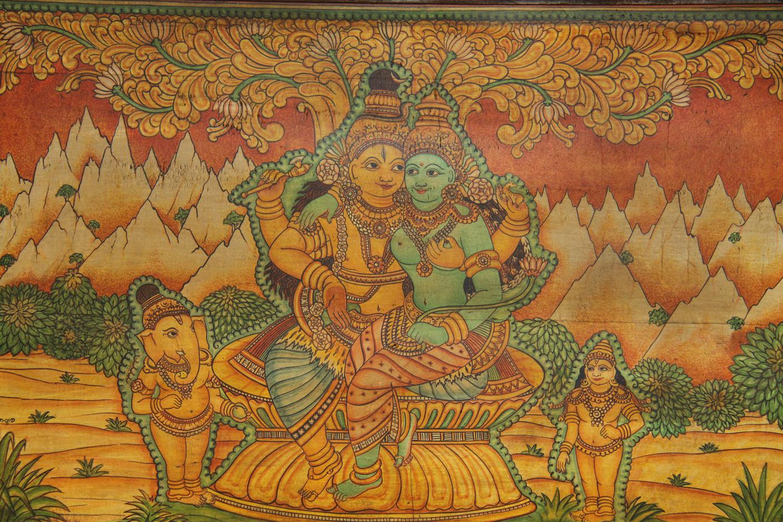 Shiva und Shakti. c: Inside India