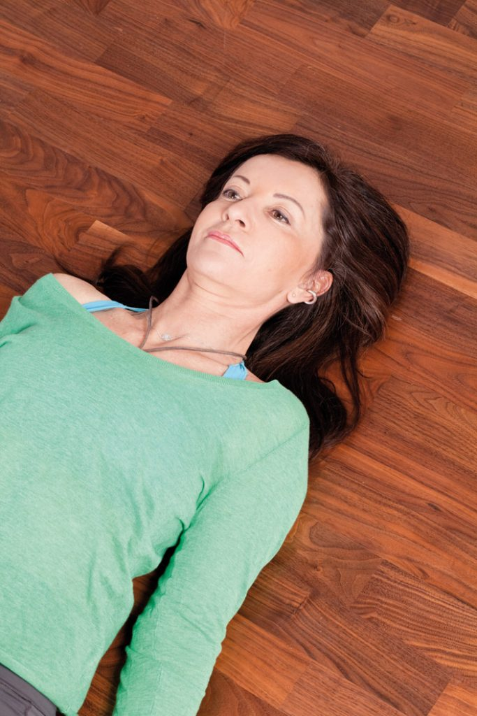 """4. Kopf-""""Achter"""" für einen lockeren Nacken"""