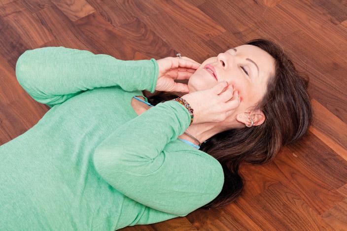 6. Entspannter Kiefer –  gelöster Nacken