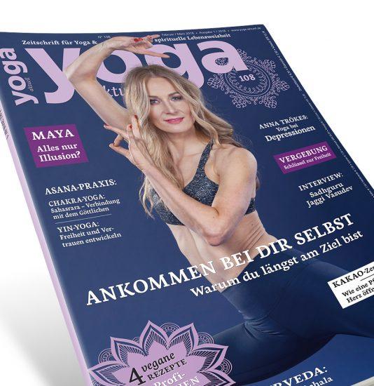 YOGA AKTUELL 108 Cover