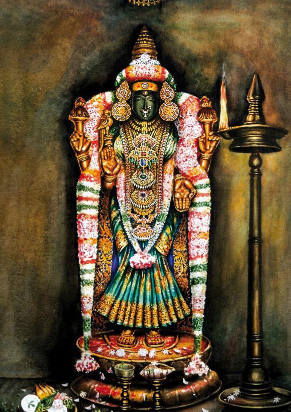 Abbildung 1: Mutter Agilandeshvari