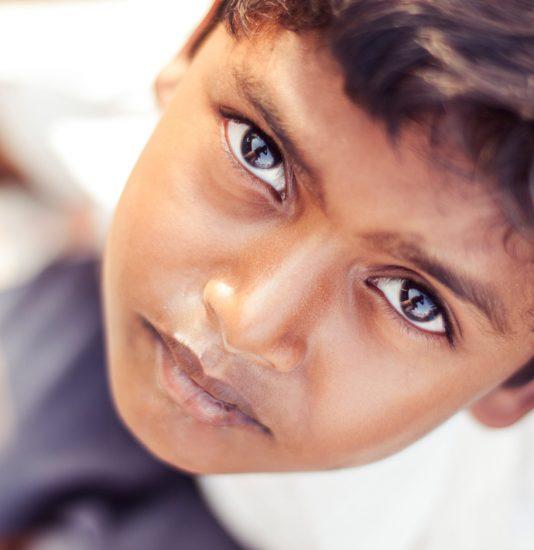 Indischer Junge