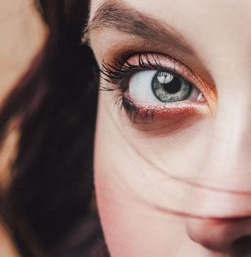 Frau Gesicht Nahaufnahme