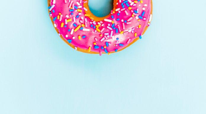 Süßer Donut
