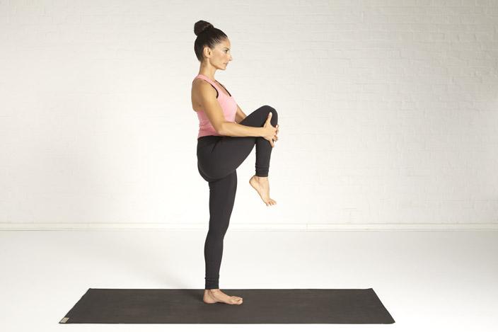 11. Stehende Balance, Übergang zum Tänzer