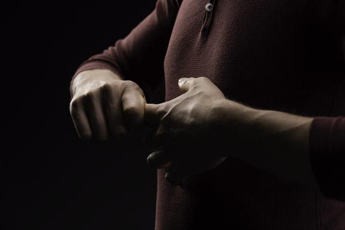 5. Die Finger lösen