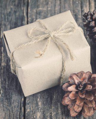 Alternatives Geschenkpapier