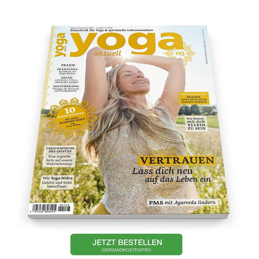 Die neue YOGA AKTUELL HEFT 123 - August/September 2020