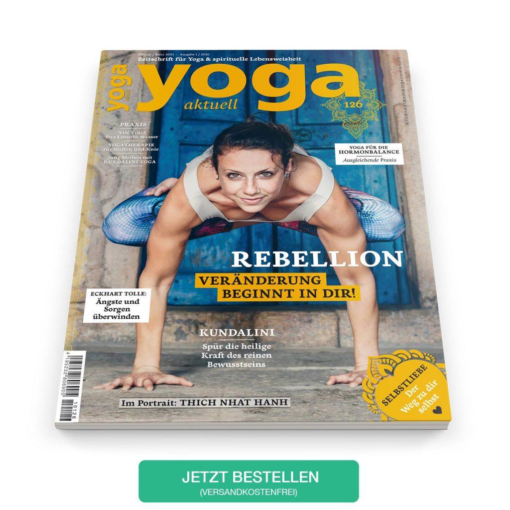Das aktuelle Heft: YOGA AKTUELL 126 - Februar/März 2021